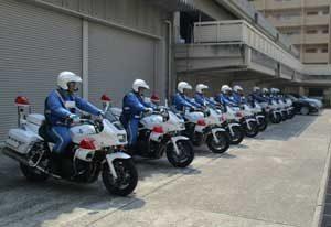 愛知県内の交通事故死者大幅減に県警交機隊が貢献