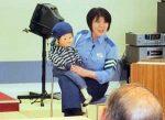 広島県三原署・河村巡査部長の交通安全教室が好評