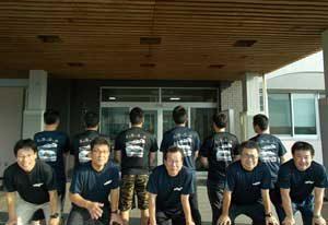 宮崎県えびの署で地域を見守る「ランニング倶楽部」を結成