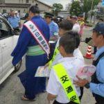 石川県七尾署が大相撲・輝大士関を一日警察署長に任命