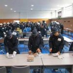 三重県警察学校で非常招集訓練と代替災害警備本部の設置訓練