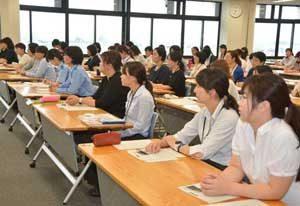 岐阜県警で女性警察官・職員のキャリアプランセミナーを開催