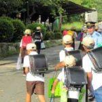 滋賀県警が新学期初日に児童の一斉見守り活動