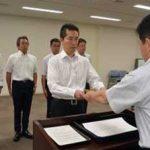 岐阜県警で技能指導官5人を新たに任命