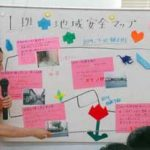 福岡県田川署で高校・大学生ボランティアと「地域安全マップ」を制作