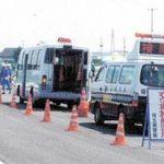 埼玉県警は道路管理者と合同で地震想定の交通対策訓練