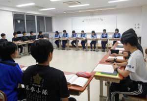京都府警察学校が女性初任科生に卒業前教養を実施