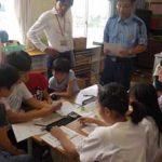 愛知県東海署が小学生に「サイバーポリスゲーム」で授業