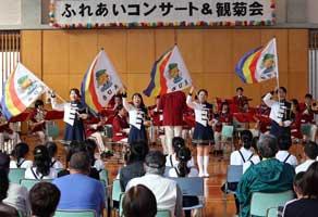 愛媛県警察学校で地域住民招いたふれあいコンサート