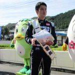 岡山県美咲署でレーサー・蒲生尚弥さんを一日警察署長に