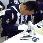 埼玉県幸手署が隣接2署と合同の鑑識競技会を開催