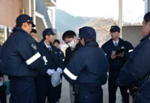 長野県警察学校で初任科生への実戦的総合訓練を実施