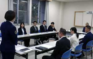 県境の岐阜県垂井署と滋賀県米原署で働き方改革の意見交換会