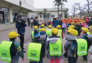 新潟県警で下校時パトロールのスタート式を実施