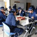 滋賀県警で代替警備本部の設置訓練