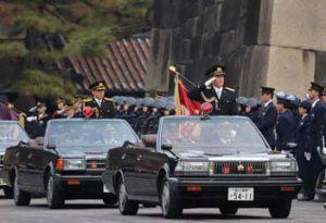 皇宮警察で11部隊出動の年頭視閲式