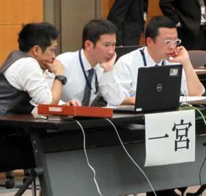 愛知県警でサイバー対処能力競技会の決勝競技