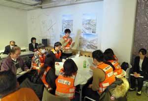 埼玉県警で若手防犯ボランティアの研修会