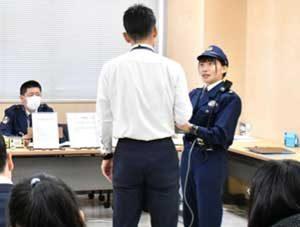 愛知県警で通信指令・無線通話技能競技会
