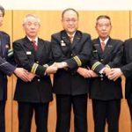 岡山県警が27消防団と地域の安全・安心協定結ぶ