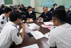 埼玉県警の運転免許本部で震災時図上訓練を実施