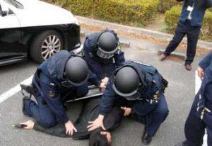 愛知県名東署が対立抗争想定した緊急配備訓練を実施