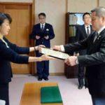 佐賀県警が術科指導功労者に「県警名誉師範」を授与