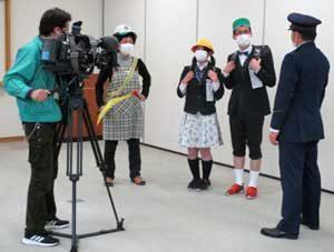 滋賀県米原署が通学路警戒の啓発動画を制作