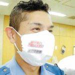 神奈川県秦野署で防犯・事故防止啓発のオリジナルマスクを製作