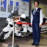 和歌山県新宮署が大型白バイを交通安全の守り神に