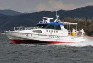 佐賀県警有明海機動警ら隊で新警備艇「しらぬひ」の運航開始
