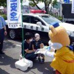 奈良県桜井署が「ロックの日」に盗難被害防止の啓発活動