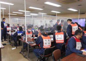 佐賀県警で大雨災害想定した対応訓練を実施