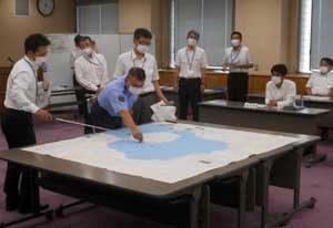 鹿児島県警で桜島火山対策会議開く