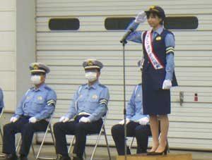 宮城県仙南ブロック5署で死亡事故防止作戦の出発式