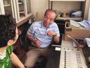 和歌山県警の学校支援サポーターが校内放送でリモート授業