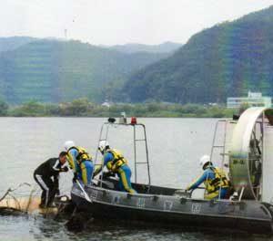 兵庫県警で風葬買いに備えた災害警備訓練