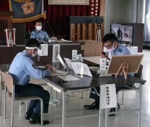 佐賀県警で「令和2年度県下通信指令・無線通話技能競技会」開催