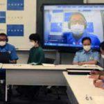 宮城県警高速隊でリモート式の隊全体会議を開催