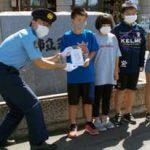 北海道旭川方面名寄署で非行防止教材CDを管内全学校に配布