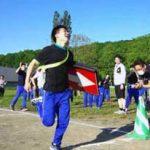 北海道警察学校で体力強化の「ポリリンピック」を実施