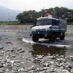 愛媛県警機動隊で河川氾濫を想定した総合救助訓練