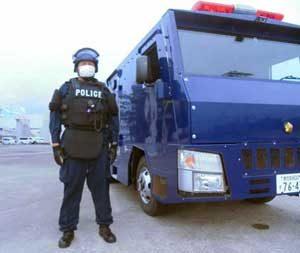 鹿児島県警が原子力発電所で妨害破壊活動の対処訓練