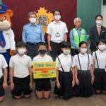 熊本県警で通学路見守りカメラの運用開始式