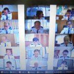 滋賀県警がリモート形式で署長会議を開催