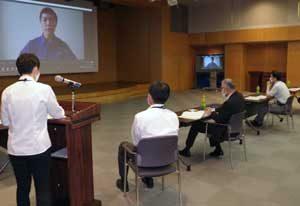 愛知県警がリモート形式で鑑識業務改善研究活動の審査会開く