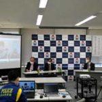 熊本県警で高校生ボランティアのCM動画発表会
