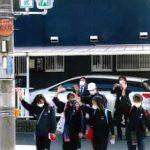 兵庫県高砂署で新設信号機の点灯式