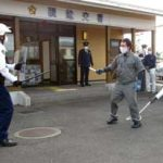 鹿児島県南九州署で交番襲撃想定の実戦訓練