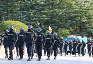 警視庁が「警視庁機動隊観閲式」を実施